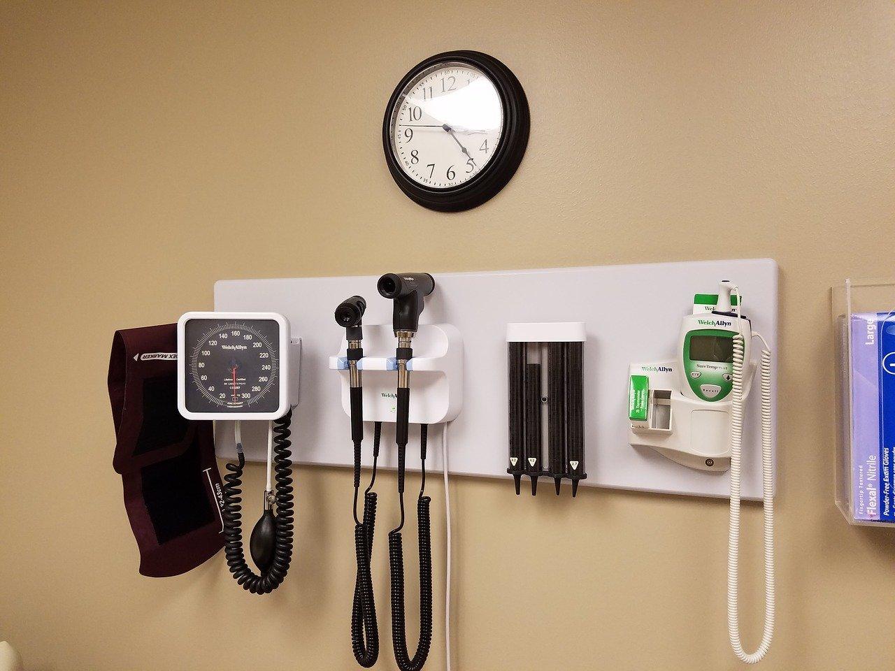 学校での健康診断